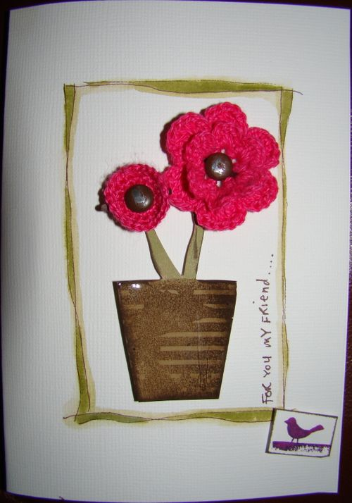 Stamping and papercraft volume 15 no 4 stampers challenge pot plant