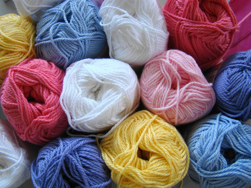 Heirloom 8 ply cotton